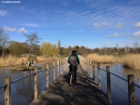 Frankendael Park, Amsterdam Oost. Cabiria Magni, Paesi Bassi