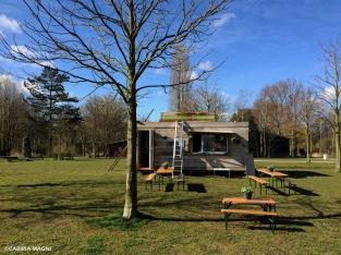 Frankendael Park: il bar. Amsterdam Oost