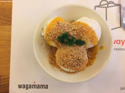 Wagamama: gelato al cocco con mango