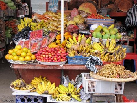 Il mercato di Bedugul, Bali
