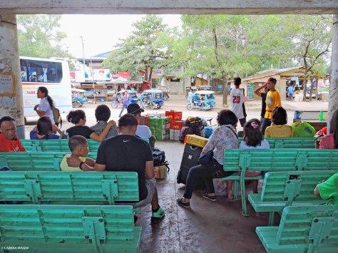 Puerto Princesa: aspettando il bus. Filippine