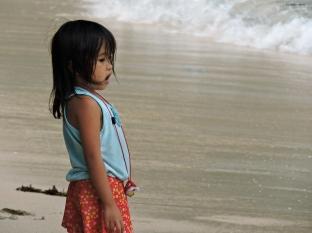 Sulla spiaggia, El Nido. Filippine