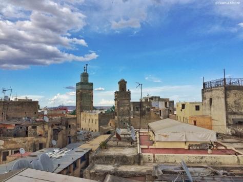 Sopra i tetti di Fes, Marocco