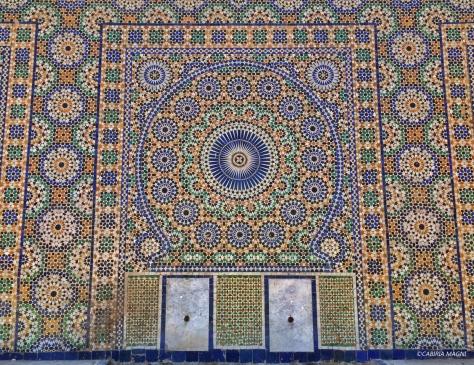 Meknes, fontana, Marocco
