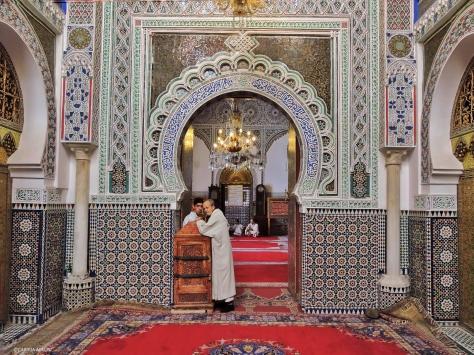 Fes, moschea. Marocco