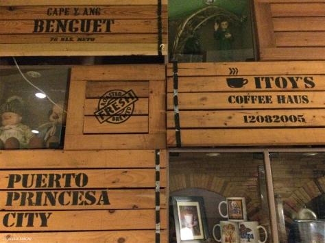 Itoy's coffee haus, Puerto Princesa, Cabiria Magni