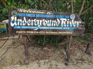 Underground River, Sabang. Filippine