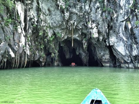 Underground River: ingresso. Palawan, Cabiria Magni