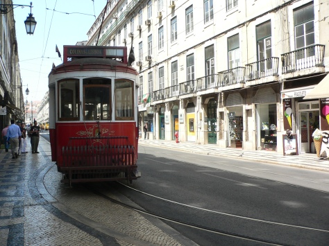 Tram a Lisbona. Cabiria Magni