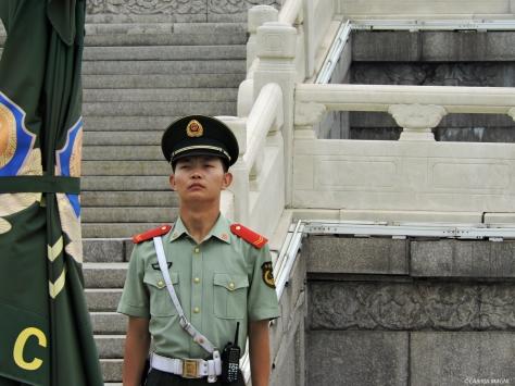 Pechino - Piazza Tienanmen. Cabiria Magni