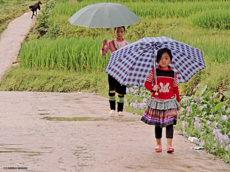Children in Sapa, Vietnam