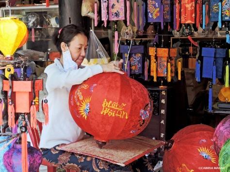 Le lanterne di Hoi An, Vietnam. Cabiria Magni