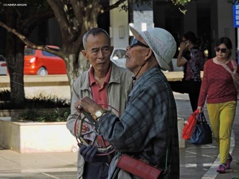 I vecchini degli aquiloni. Kunming, Cabiria Magni