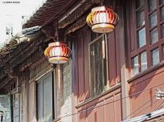 Il mercato di Jingxing, lanterne. Cabiria Magni
