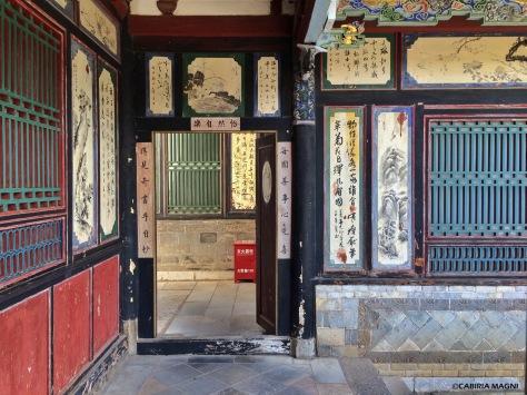 I cortili dei giardini della Signora Zhou. Cabiria Magni, Cina