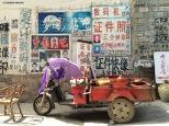 Le strade di Jianshui, dettagli. Cabiria Magni