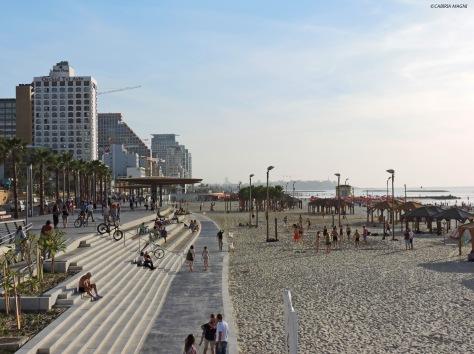 Tel Aviv, lungomare. Israele, Cabiria Magni