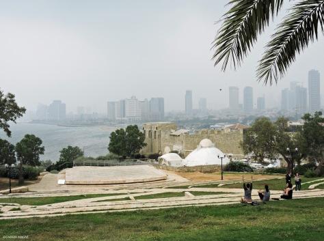 In cima alla collina di Jaffa. Cabiria Magni, Israele