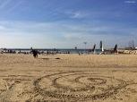 La spiaggia di Tel Aviv. Cabiria Magni