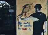 Tel Aviv, street art. Cabiria Magni