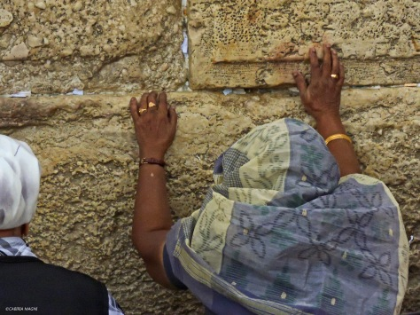Fedeli al muro del pianto, Gerusalemme. Cabiria Magni, Israele