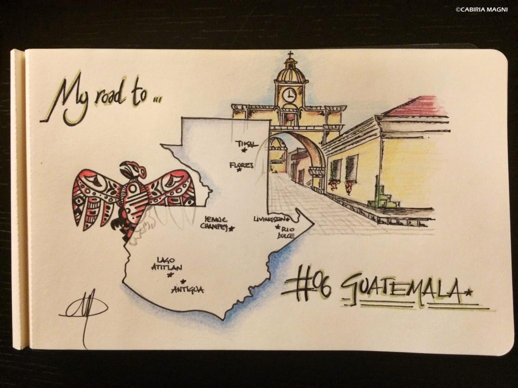 Carnet di viaggio Guatemala. Cabiria Magni