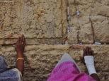 Gerusalemme, le mani del muro del pianto, Cabiria Magni