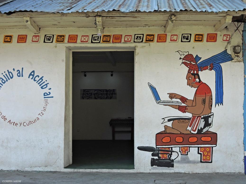 Internet point, San Pedro la Laguna, Guatemala. Cabiria Magni