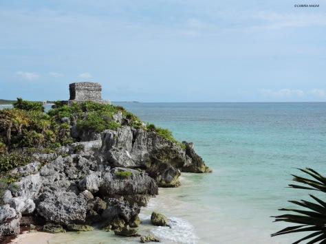 Tulum, le rovine maya. Cabiria Magni, Messico