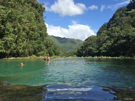 Le pozze di Semuc Champey, Guatemala, Cabiria Magni