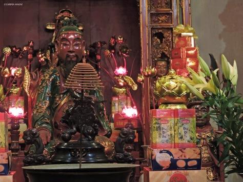 Tempio della Letteratura, interno. Cabiria Magni, Vietnam