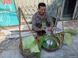 Venditore di sticky rice, Hanoi. Cabiria Magni, Vietnam