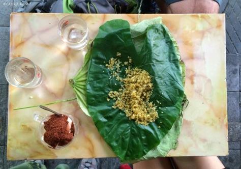 """Sua Chua Cacao e """"young sticky rice"""", Hanoi. Cabiria Magni, Vietnam"""