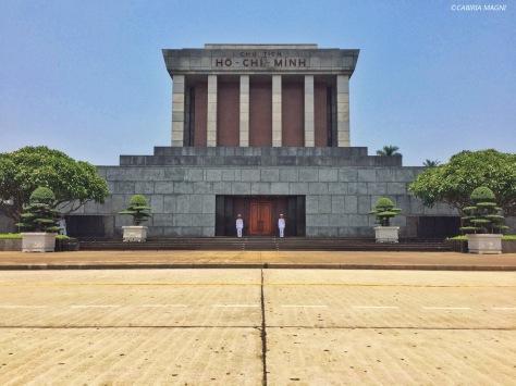Mausoleo di Ho Chi Minh, Hanoi. Cabiria Magni, Vietnam