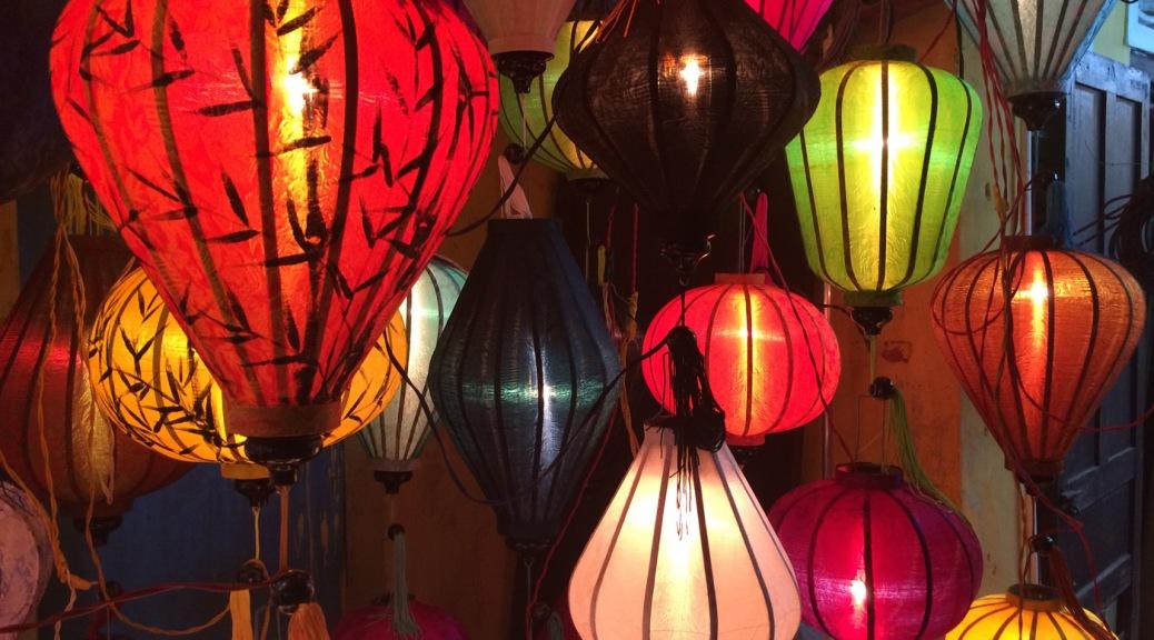 Le lanterne di Hoi An. Cabiria Magni, Vietnam