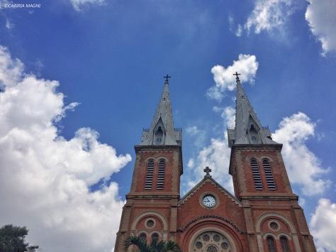 Notre Dame church Saigon. Cabiria Magni, Vietnam