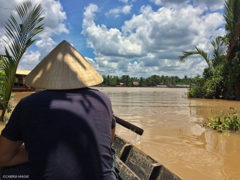 Il Delta del Mekong a Ben Tre. Cabiria Magni, Vietnam