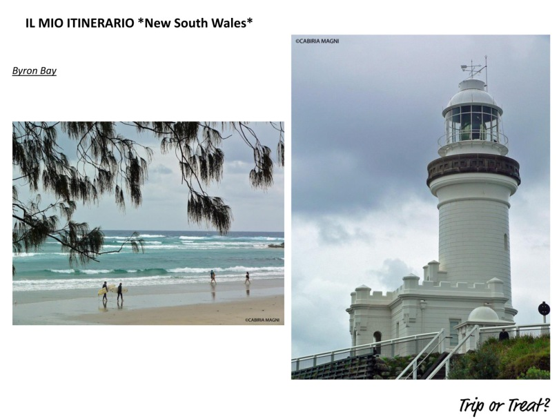 Il mio itinerario: New South Wales