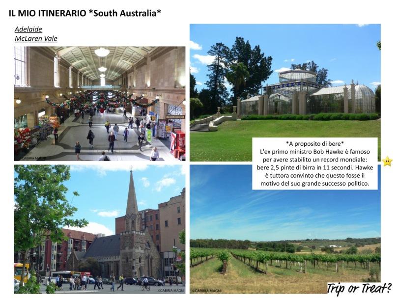 Il mio itinerario: South Australia