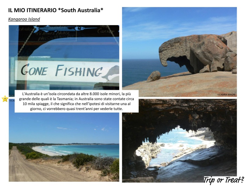 Il mio itinerario: South Australia