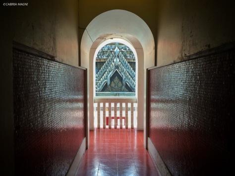 Il labirinto della walking meditation. Bangkok, Cabiria Magni