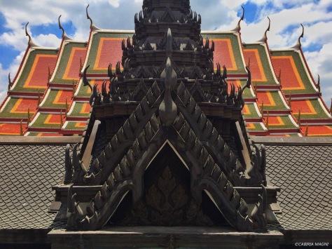 Una delle spire del Loha Prasat. Bangkok, Cabiria Magni