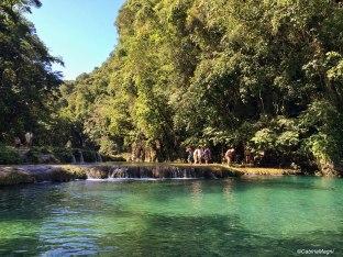 Le pozze di Semuc Champey, Guatemala