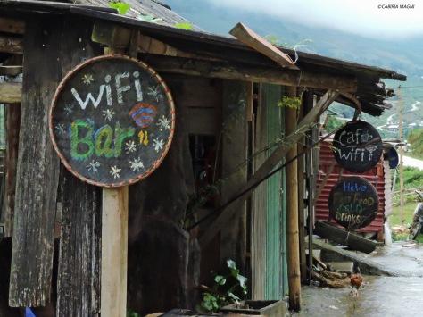 Wi-fi bar in Sapa, Vietnam. Cabiria Magni