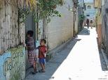 Per le strade di San Pedro la Laguna, Guatemala.