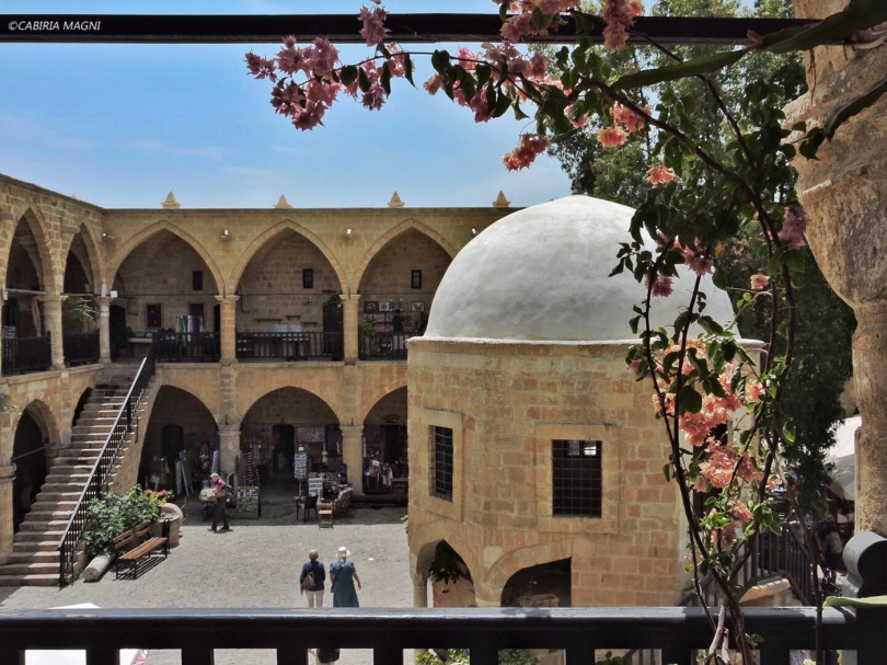 Nicosia, la parte turca, Buyuk Han. Cabiria Magni, Cipro