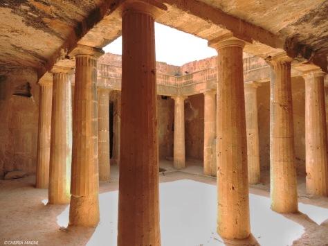 Paphos, le tombe dei re. Tomba numero 3. Cipro, Cabiria Magni
