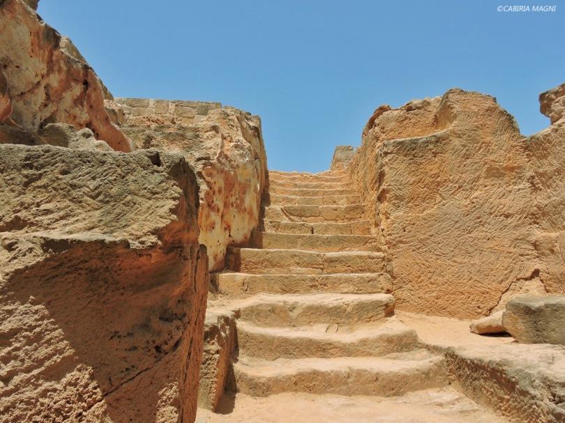 Paphos, le tombe dei re. Cabiria Magni, Cipro