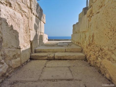 Cipro, teatro di Kourion. Cabiria Magni