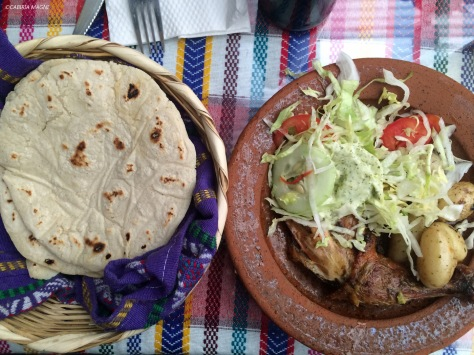 Antigua, pollo y tortillas! Cabiria Magni, Guatemala
